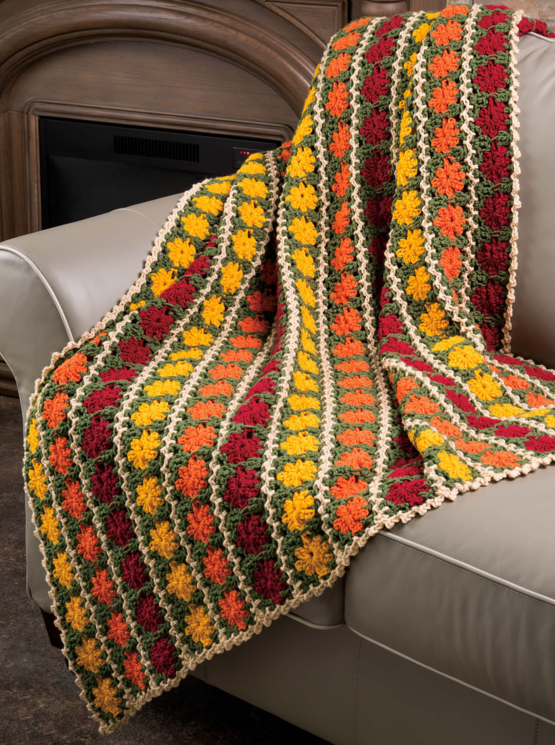 Fall Marigolds Throw