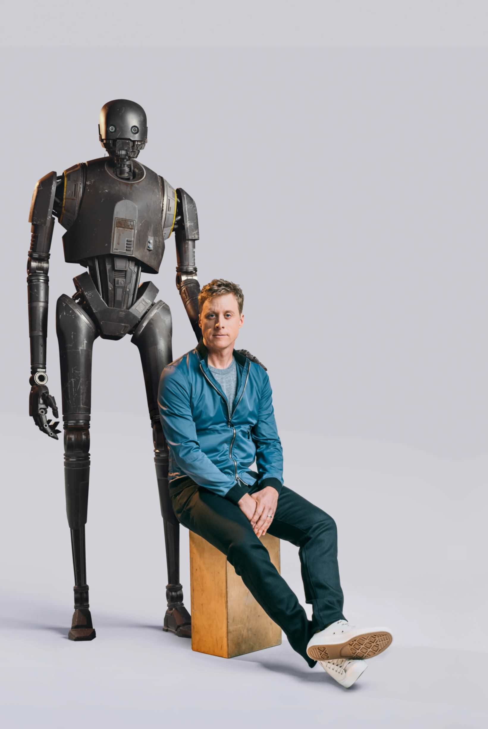 mr robot rogue ones alan tudyk goes into the droid