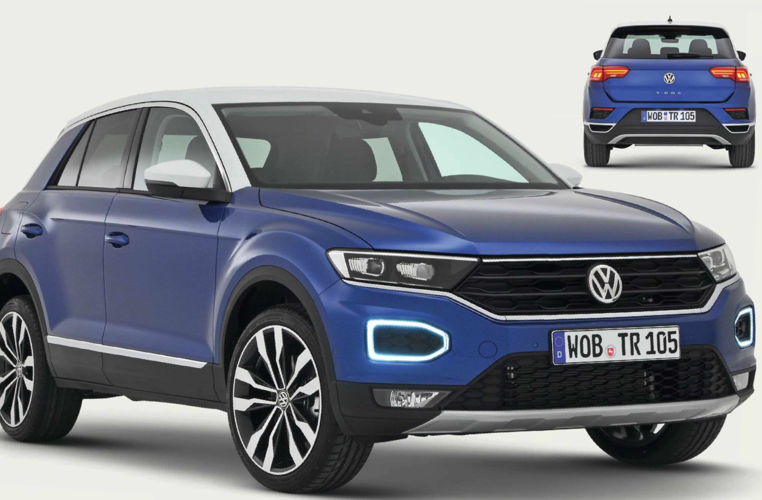 volkswagen t roc. Black Bedroom Furniture Sets. Home Design Ideas