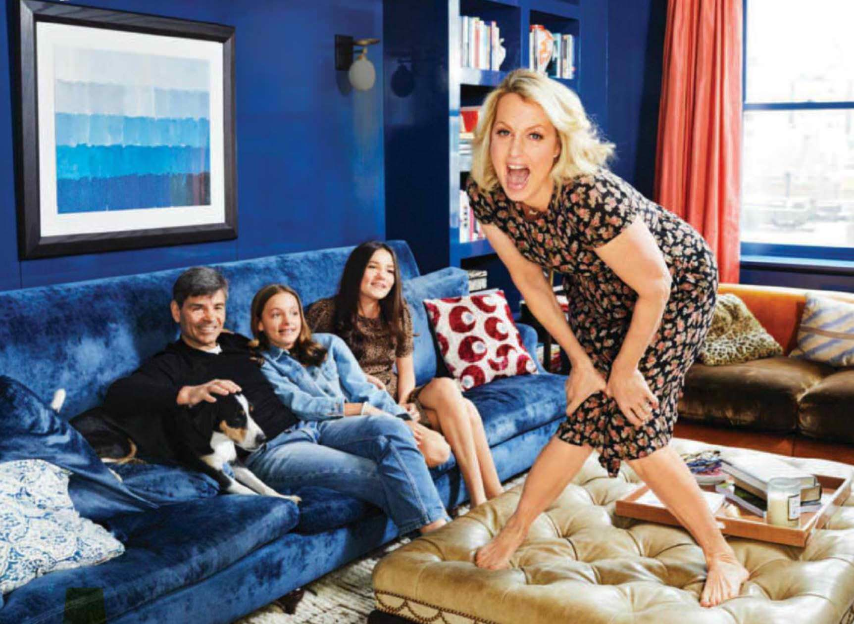 At Home With Ali Wentworth George Stephanopoulos Funniest Mom Alive