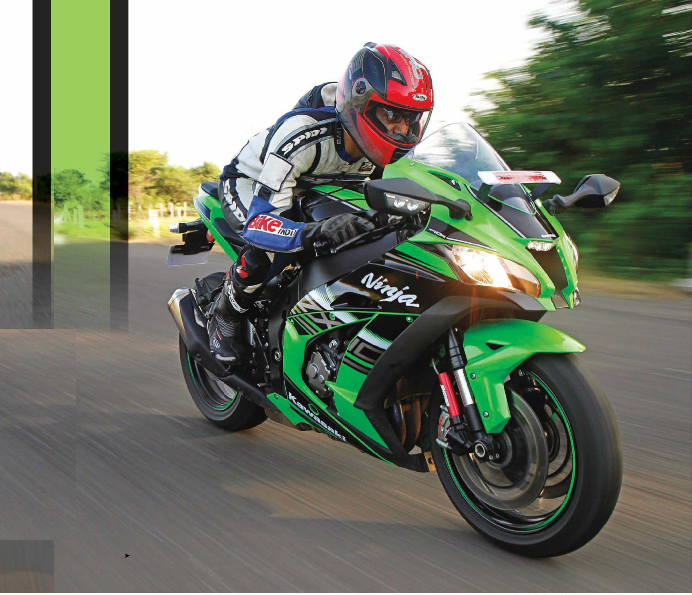 kawasaki ninja zx-10r race bike for the road
