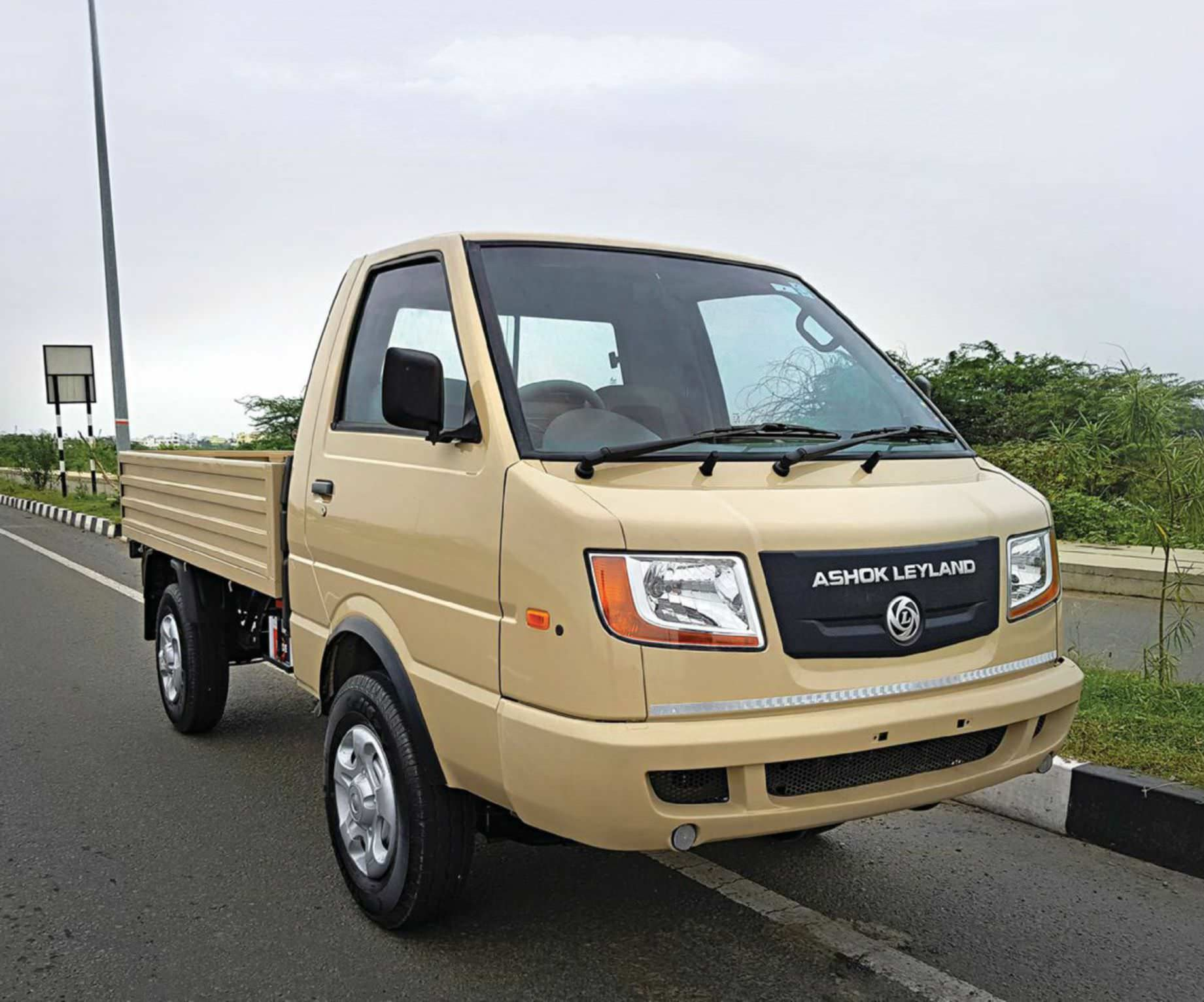 Ashok leyland dost bigger and better mozeypictures Image collections