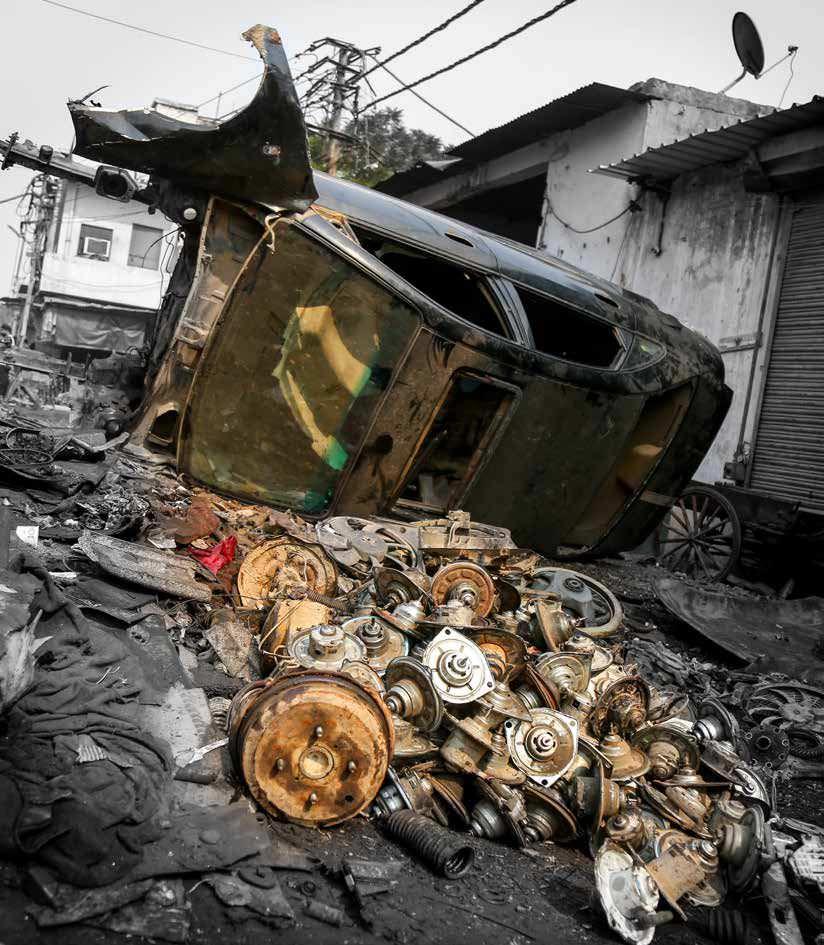 Mayapuri: Asia\'s Largest Auto Scrap Yard