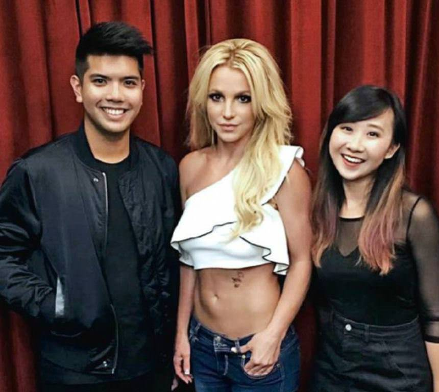 What its like to meet britney spears m4hsunfo