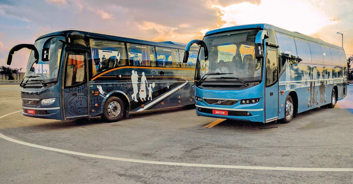 New Volvo Coaches Up the Technology Game in Buses