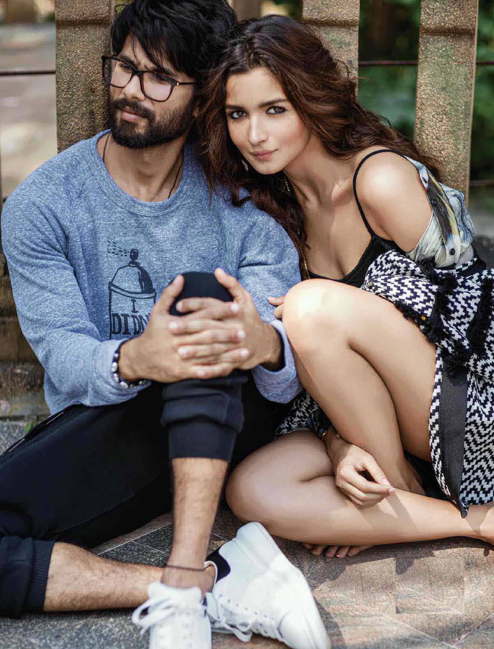I like the grain from which Alia is made. Real and extremely emotional, both as an artiste and as a person. As a person, her journey is about finding herself. There is a genuine need in her to discover more about life - Shahid