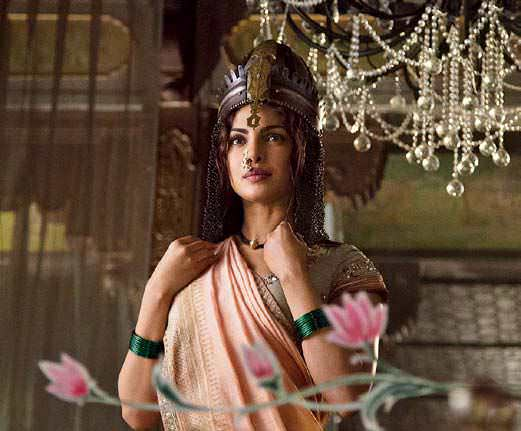 Priyanka Chopras portrayal of Bajiraos first wife Kashibai meant highlighting her Indian features in a way that was also representative of her stature as the wife of a Maratha warrior.