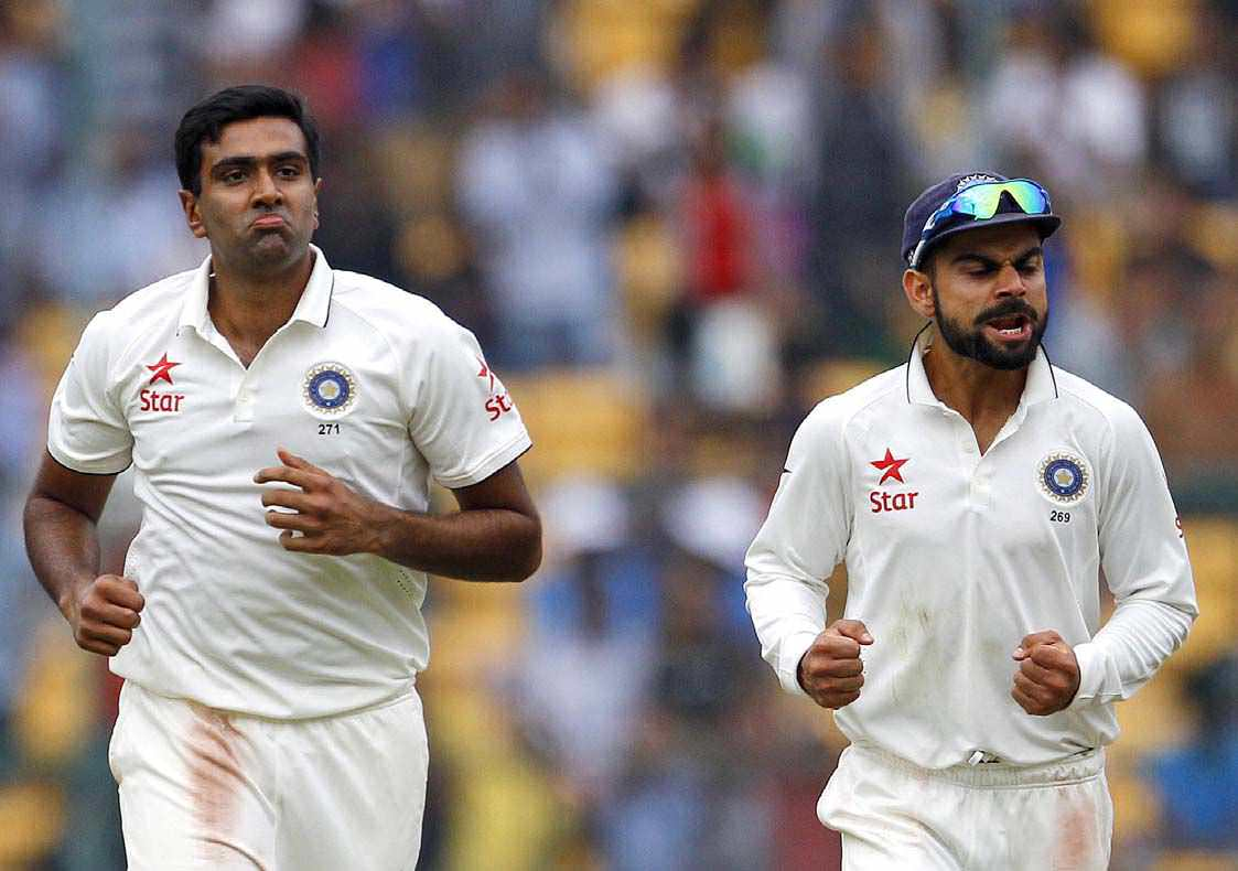 ASHWIN MIGHT BECOME INDIA CAPTAIN ONE DAY, even though the present skipper Virat Kohli is younger than him.