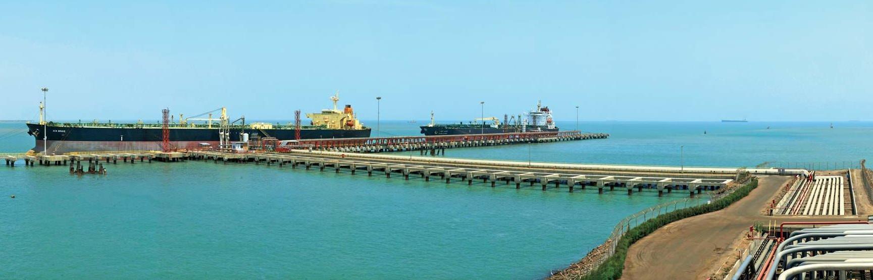 major harbour in india