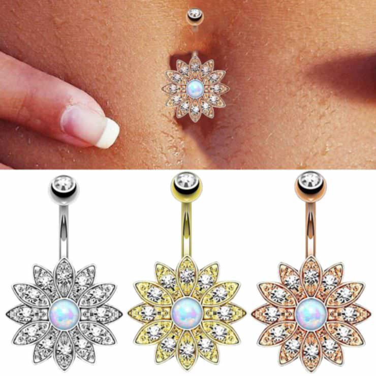 Navel Piercing And Jewellery