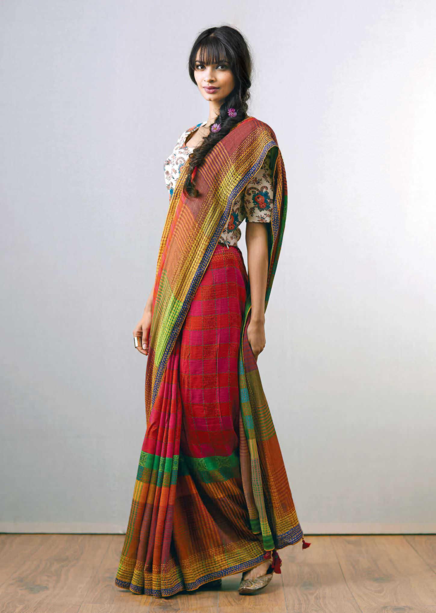 sari banana blouse soya clothing fibre natural articles handloom