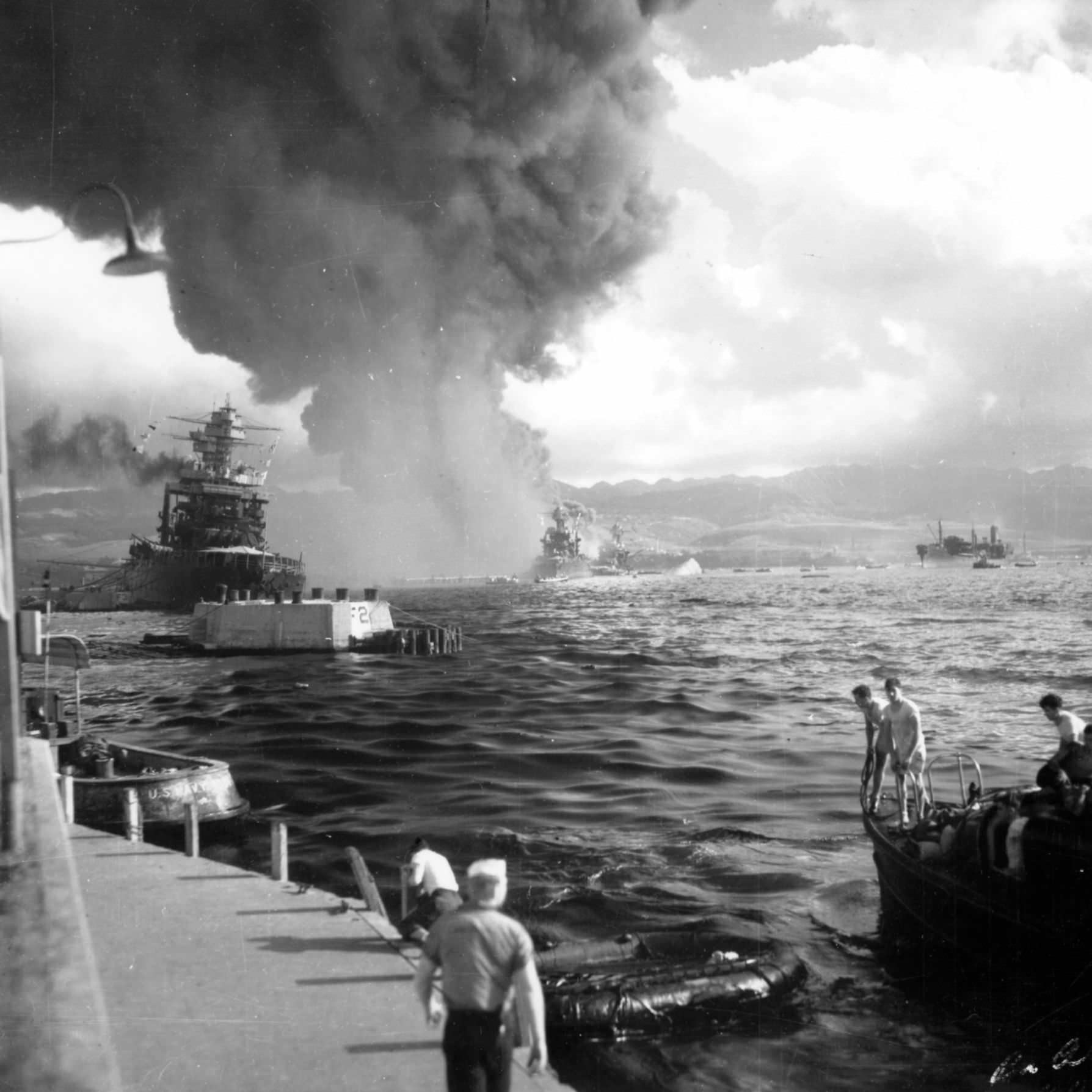 the attack on pearl harbor in 1941 Attack at pearl harbor - the japanese view attack at pearl harbor - the white house reacts the bataan death march 1942 the attack on pearl harbor, 1941.