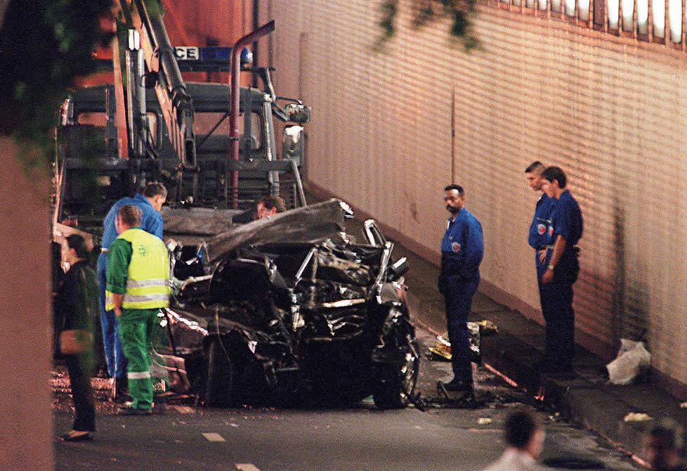 Bitter Battle For Diana Death Car