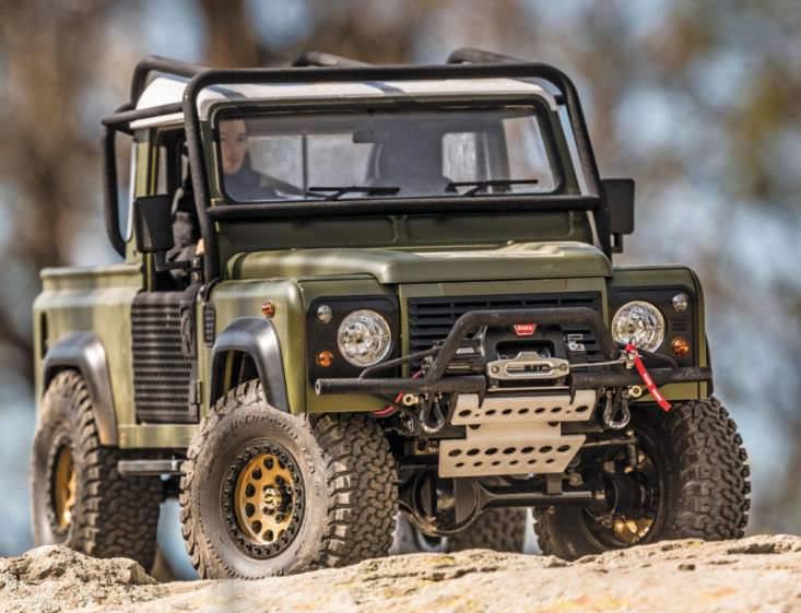 Land Rover Defender D90 Pickup