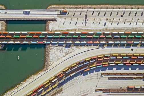 CONTAINER PORT, LOS ANGELES