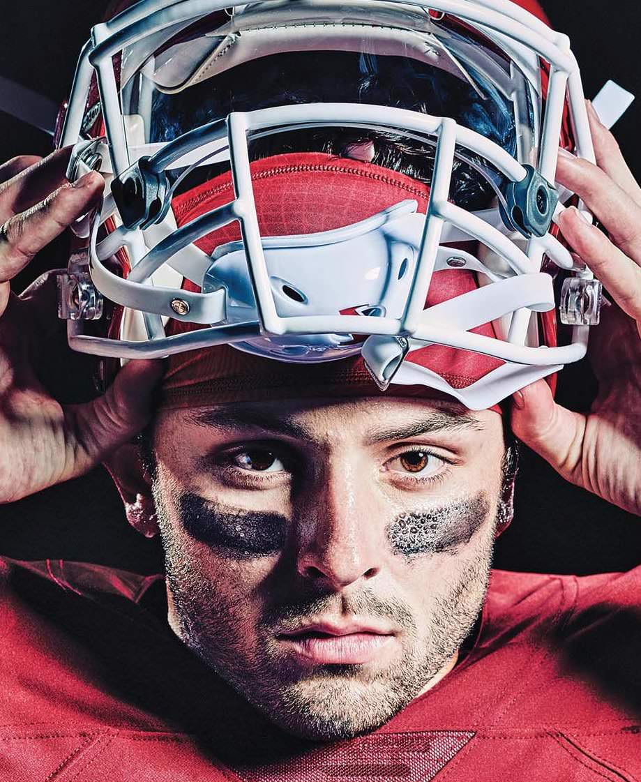 Baker Mayfield Grabbing >> All Baker Mayfield Needs Is Hate