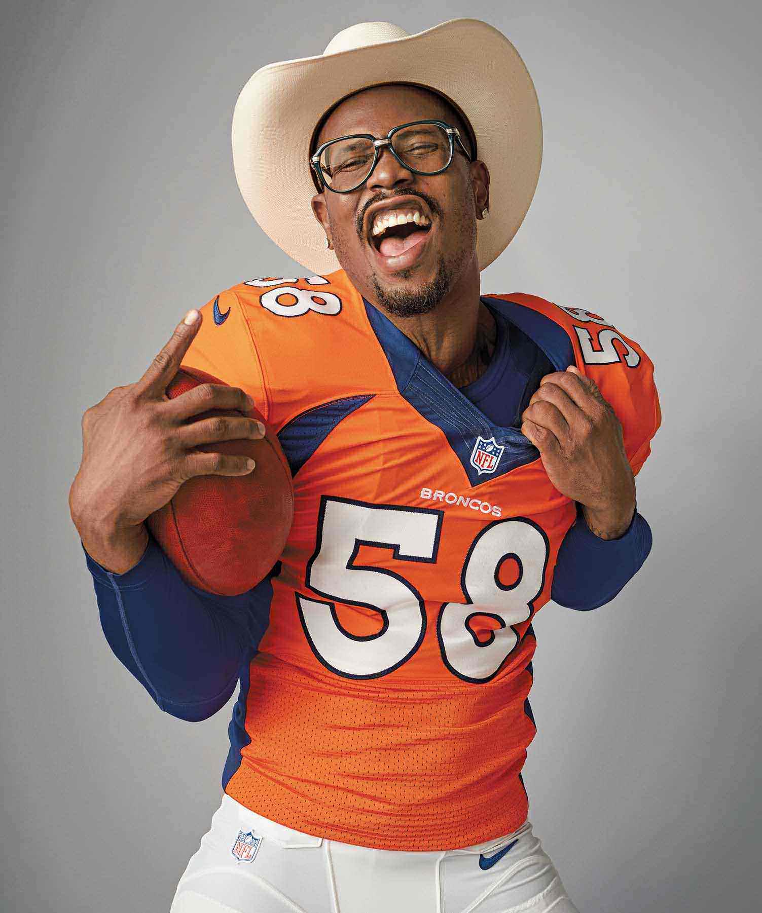 Can Denver Broncos star Von Miller Handle the Pressure