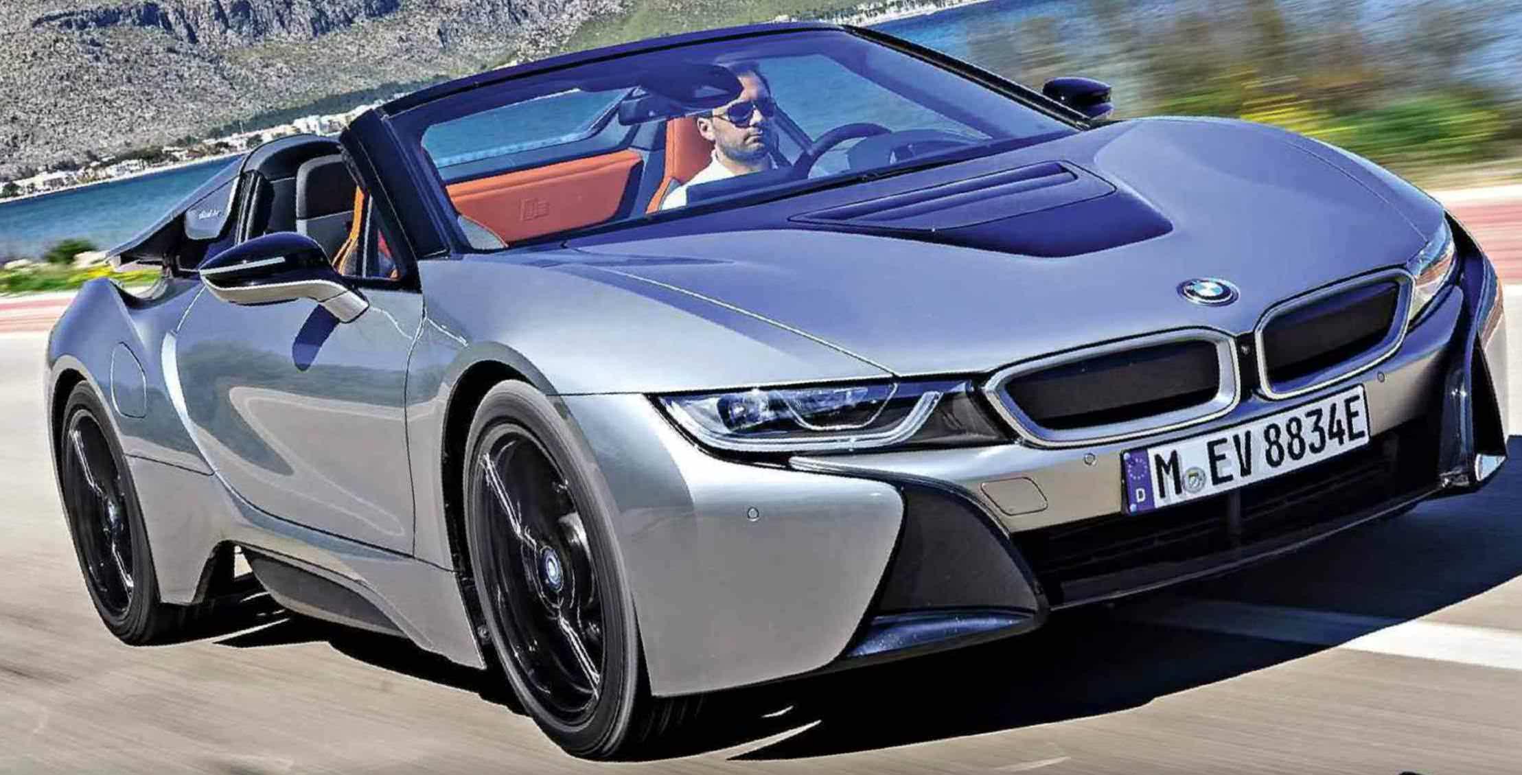 bmw i8 roadster supercar stunner. Black Bedroom Furniture Sets. Home Design Ideas