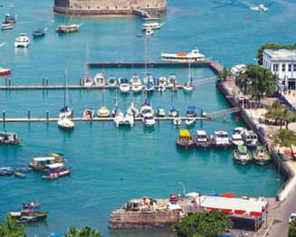 Bustling So Marcelo Fort was coined the belly button of Bahia by Brazilian writer Jorge Amado.