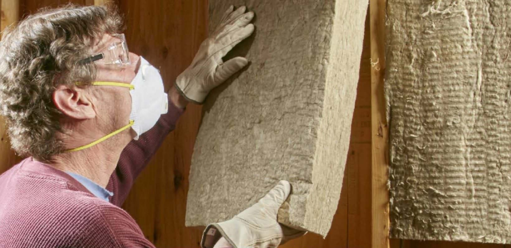 Why choose mineral wool insulation for Mineral wool wall insulation