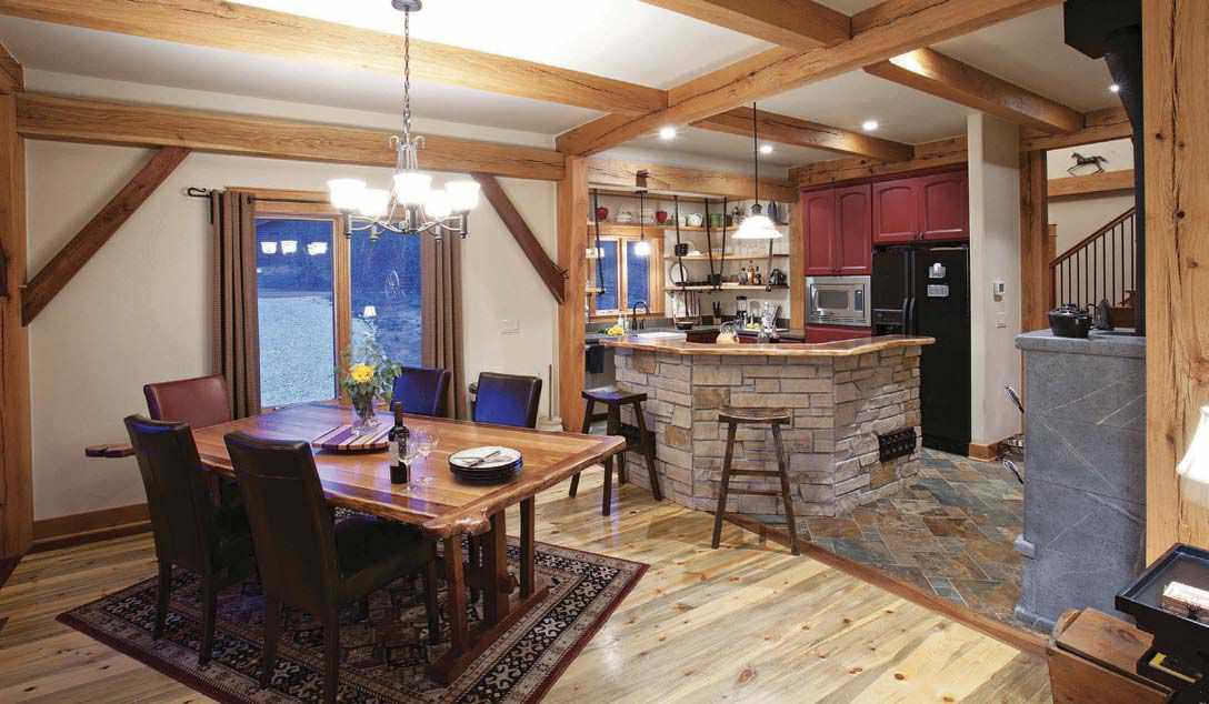 Phenomenal Anatomy Of A Small And Smart Home Timber Home Living Magazine Largest Home Design Picture Inspirations Pitcheantrous