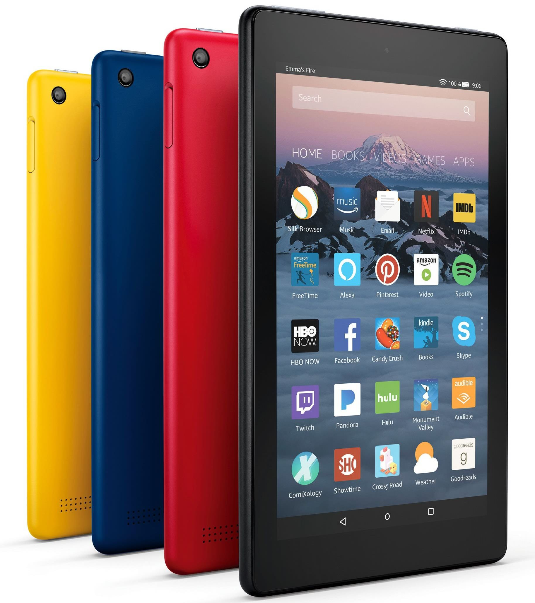 Amazon Refreshes Lineup Of Low Cost Tablets New Kids Model