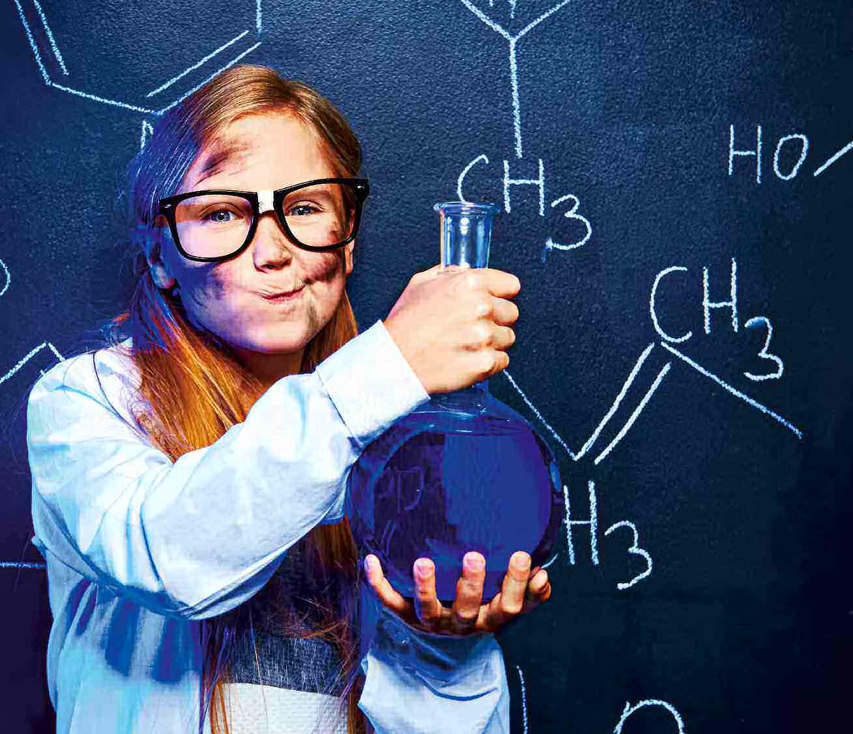 Niñas en la ciencia y la tecnología