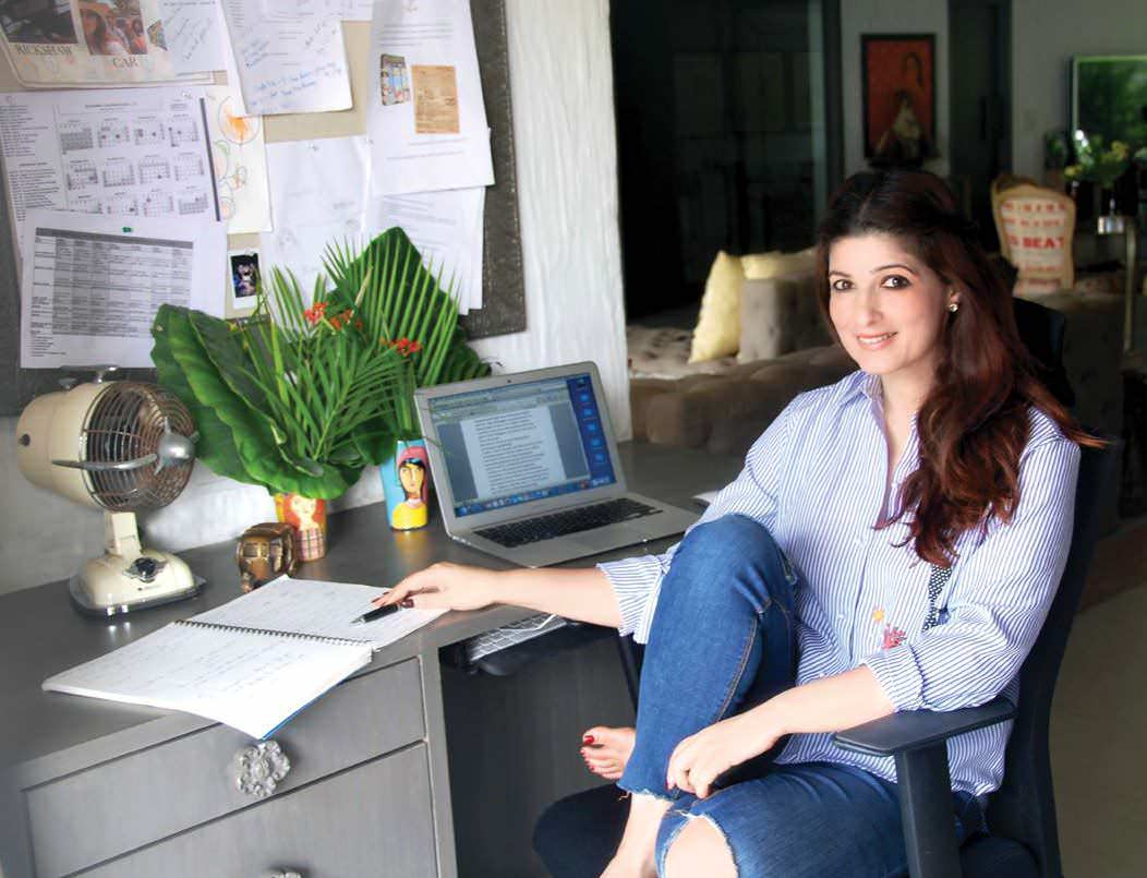 Write of passa ge for Interior designs by twinkle khanna