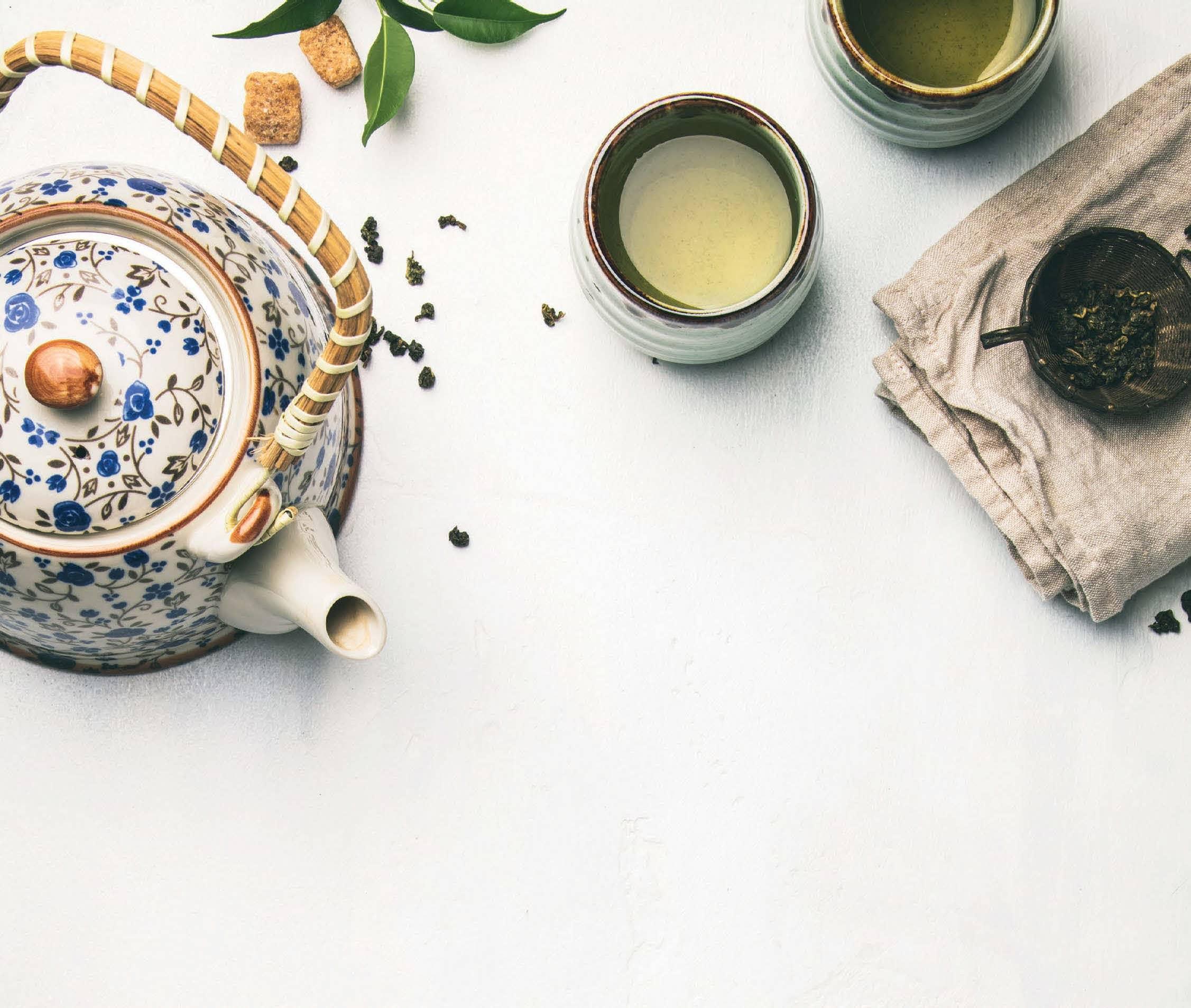 Hot Tea, Chill Vibes