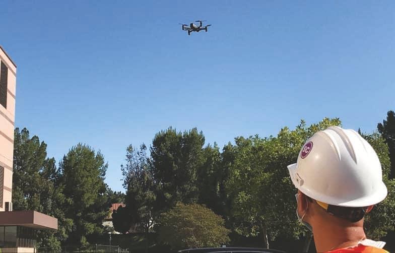 Drones & Dams