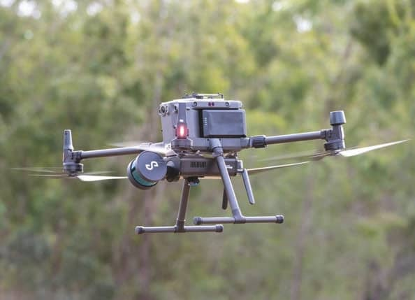 EMESENT'S HOVERMAP SCANNER SUPERCHARGES DJI MATRICE 300