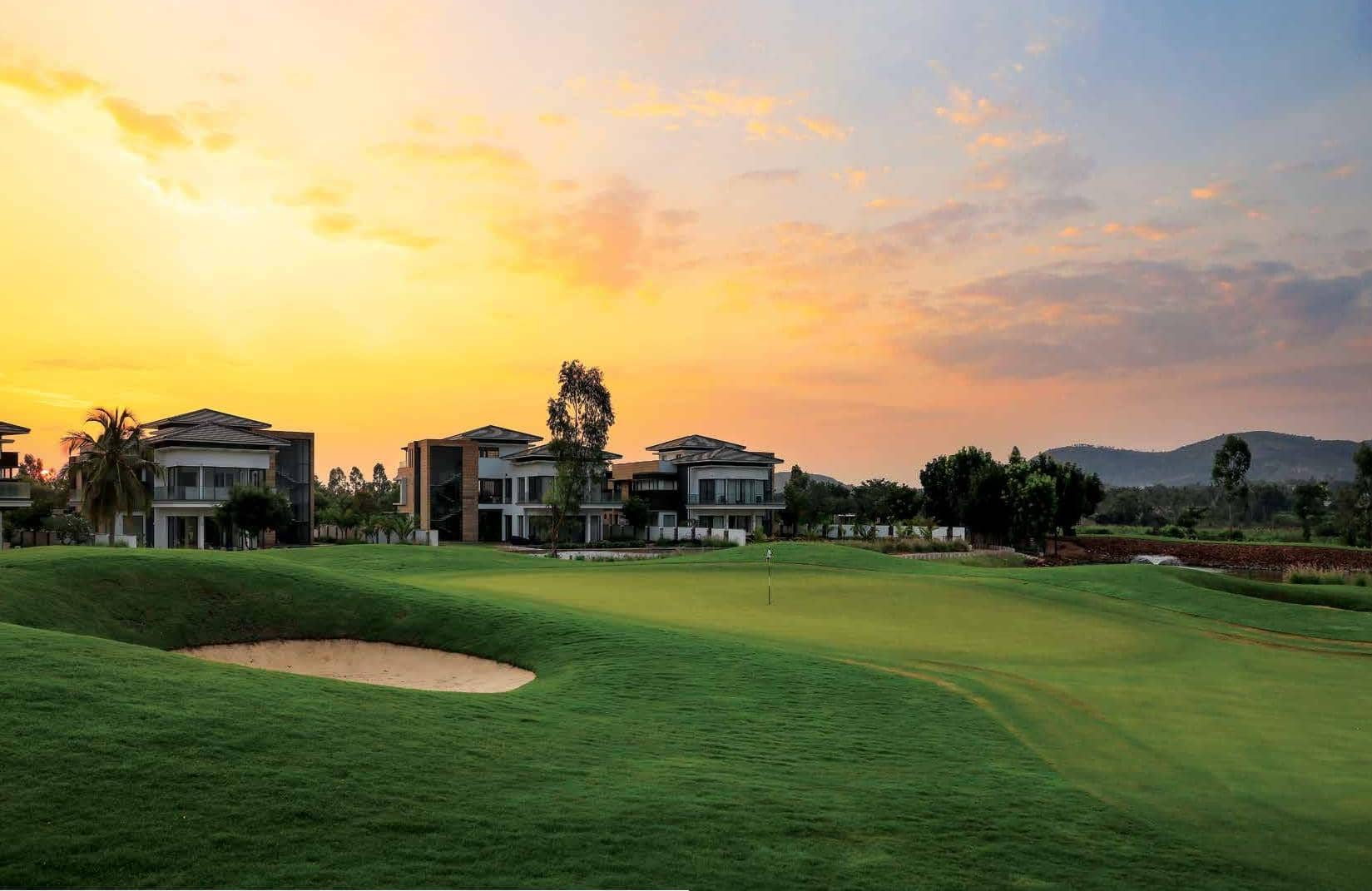 Stay & Play at Bangalore's most Luxurious Golf Community