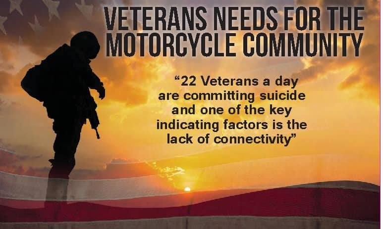 Veterans Needs for the motorcycle community