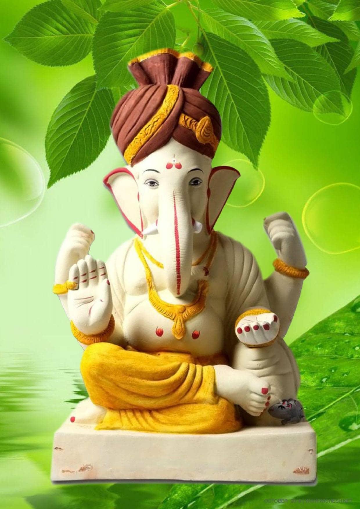 Ganpati Bappa Moriya-With Eco-Friendly Idols