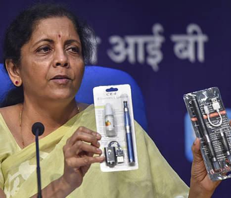 India Bans E-Cigarette Sales