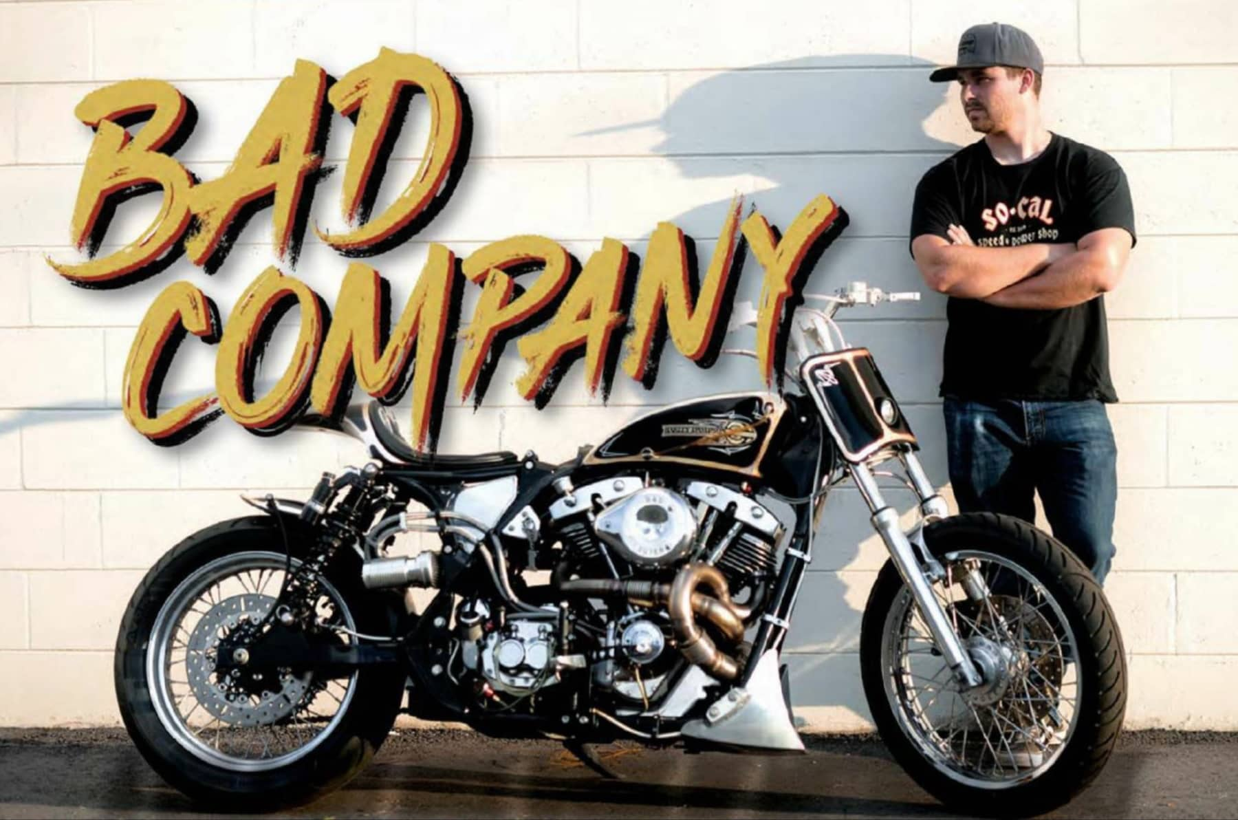 BAD COMPANY - A KYLE RAY RICE WORK OF MOTORIZED ART