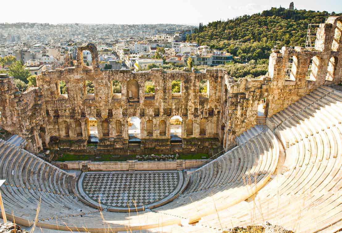 Athens- Love Among The Ruins