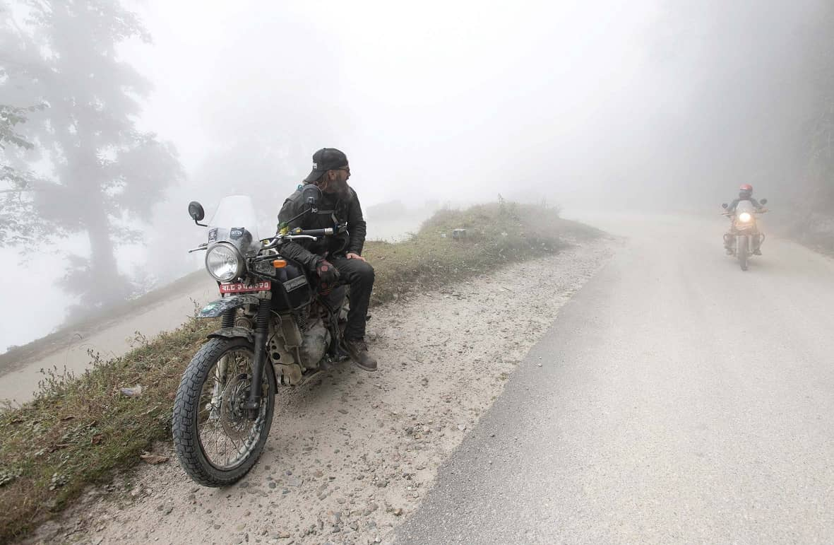 Climbing Mountains With Motorcycles