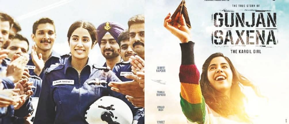 'It's All About Janhvi Kapoor': Woman NavyOfficer Says Gunjan Saxena Portrays Armed Forces in Bad Light