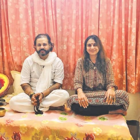Shiva of sound meets Shakti of emotion