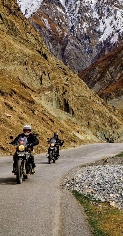Ladakh and Rajasthan