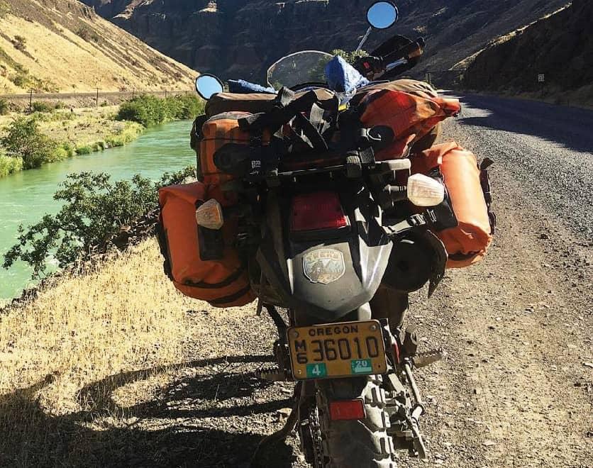 Solo Motorcycle Adventure