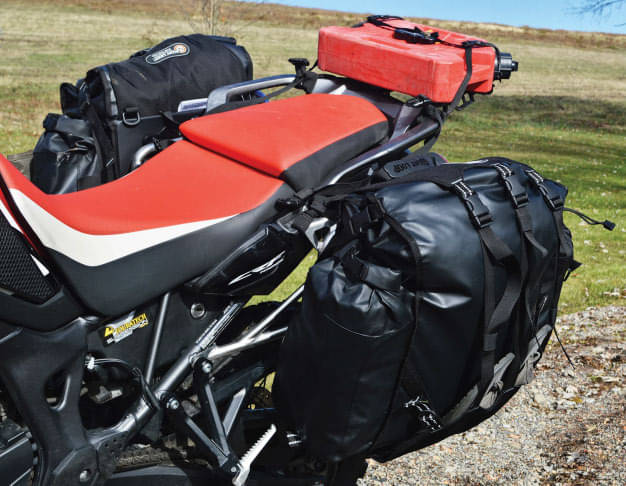 Giant Loop Round the World Panniers and Pannier Mounts