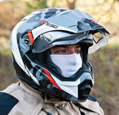 Scorpion AT-950 Dual-Pane Outrigger Helmet