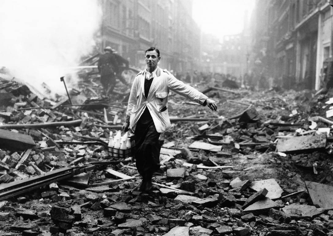 The heroes – and villains – of the Blitz