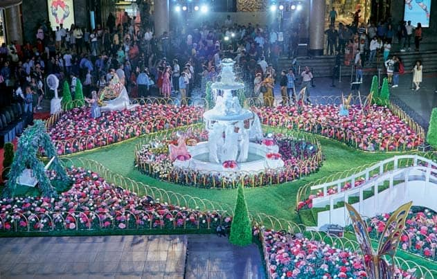 Malls Awe Visitors With Installations That Are Works Of Art