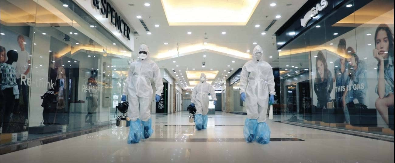LULU MALL PREPARES TO WELCOME BACK CONSUMERS WITH A CLEANER, SAFER ENVIRONMENT