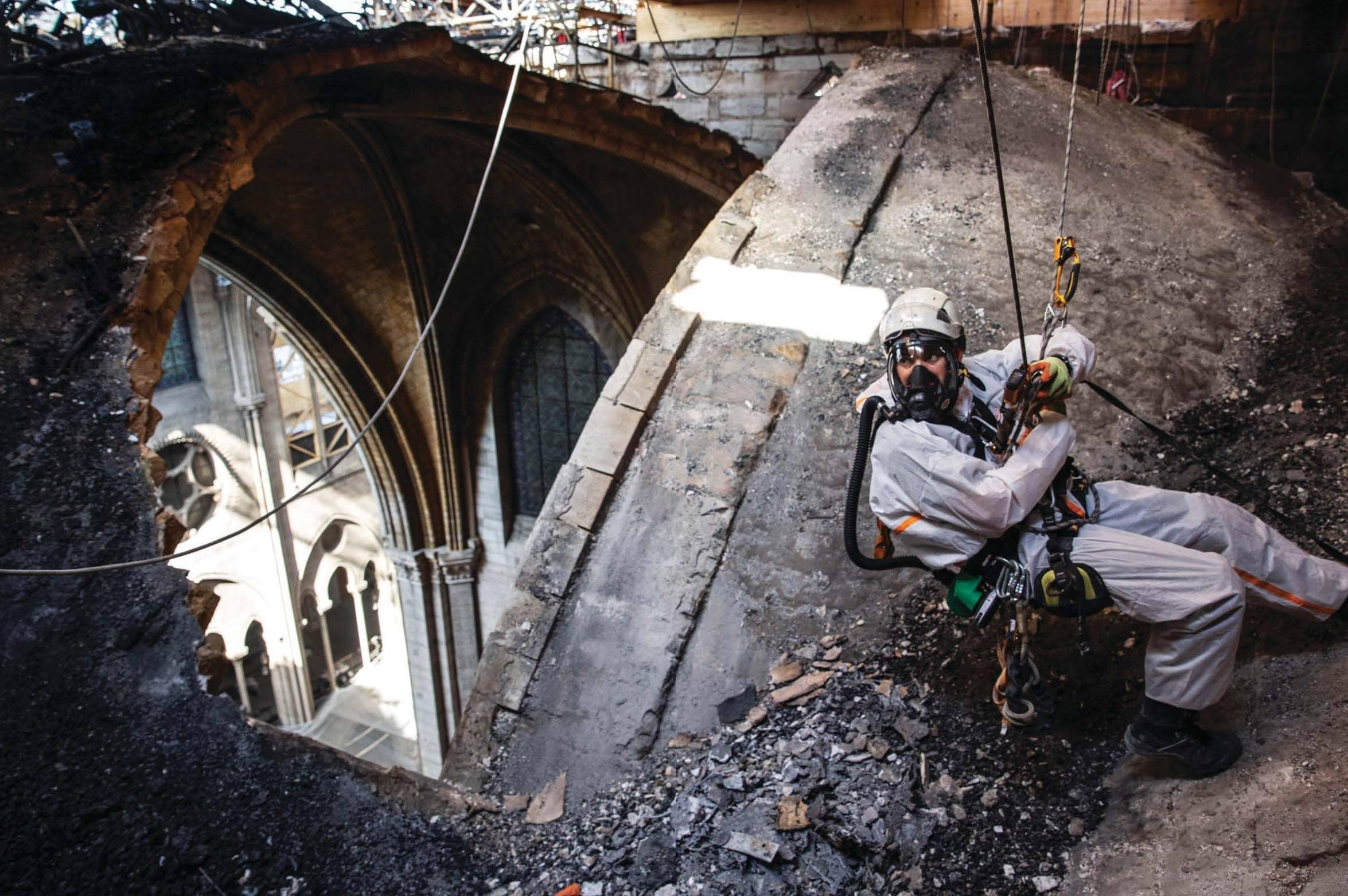 Inside The Fight Over Rebuilding Notre dame