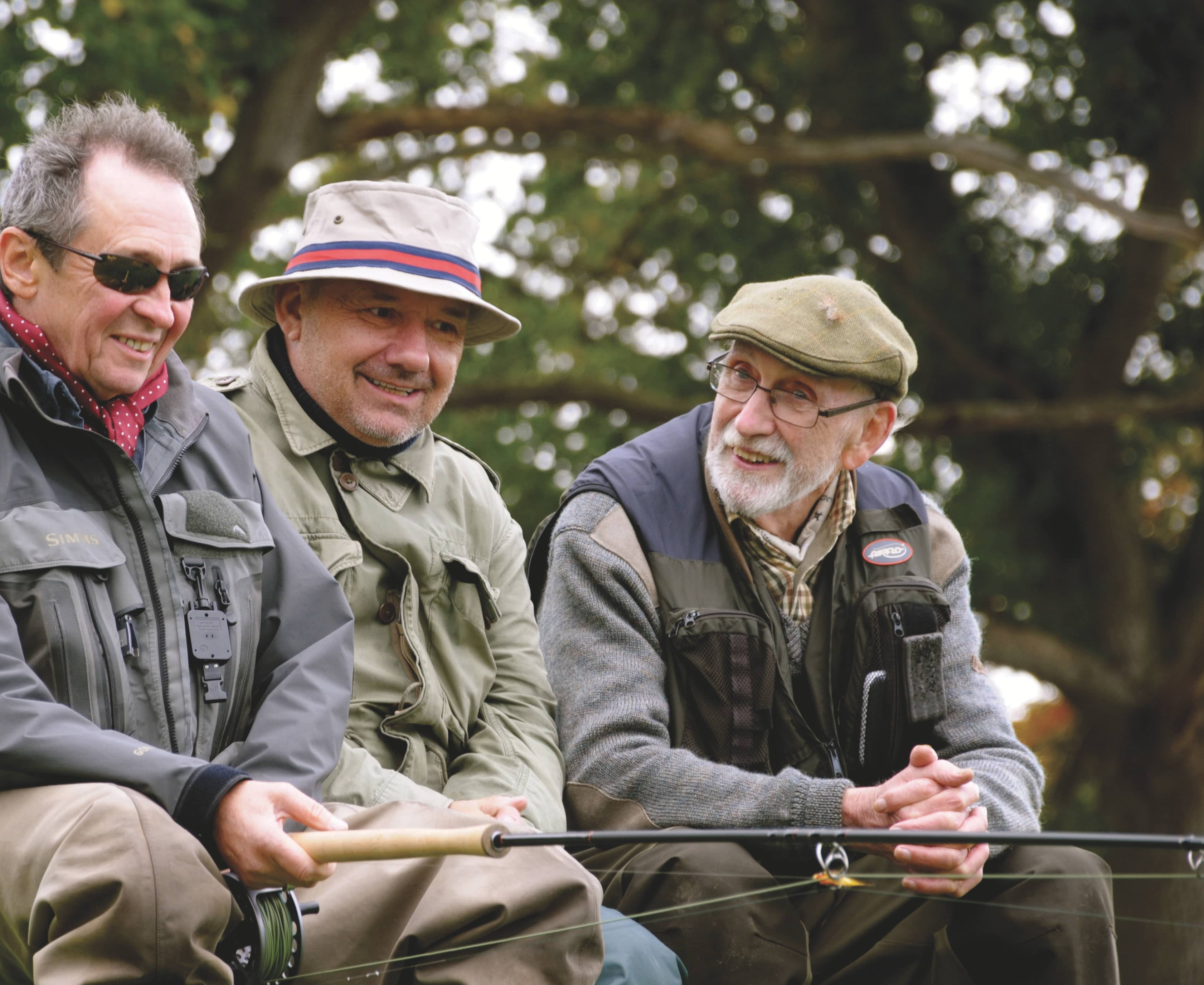 Rock On, Evergreen Anglers