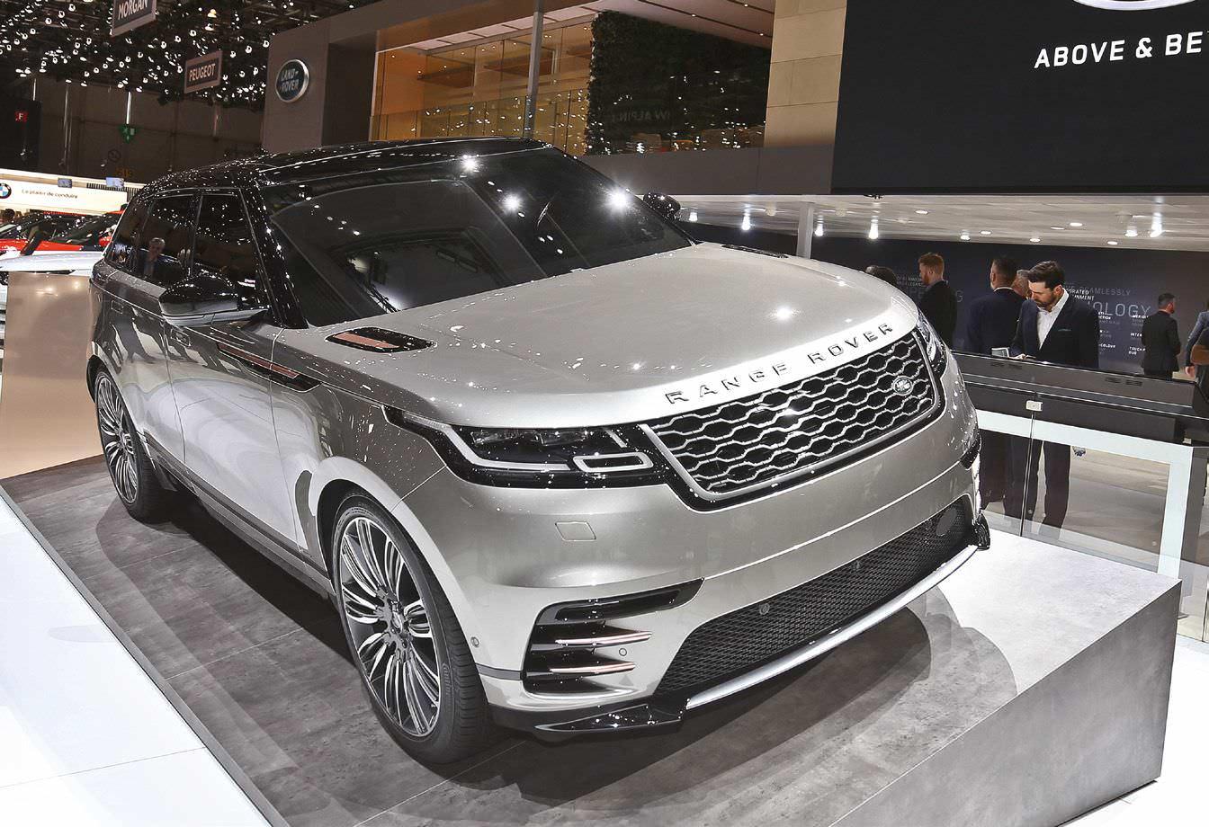 On-Road Dynamism With Range Rover Velar
